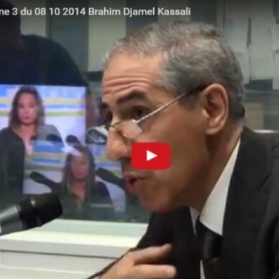 Monsieur KASSALI Brahim Djamel, Président de l'UAR, invité de la radio chaîne 3, le 08 Octobre 2014 .